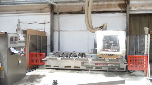 Centre d\'usinage à commande numérique Morbidelli type Author rapid 504K - 1