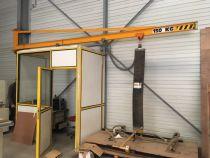 Bras de transport panneaux avec palonnier à ventouses