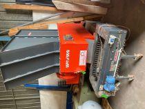 Broyeur WEIMA type WLK4S avec déférisateur à tapis CALAMIT