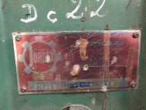 Cadreuse à poutre JORDEX type MS65A