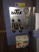 Cadreuse hydraulique Utis - type CHV 3525