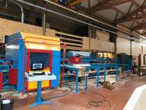 Centre d\'usinage de charpente X0147 CN HUNDEGGER - type Speed Cut SC2i
