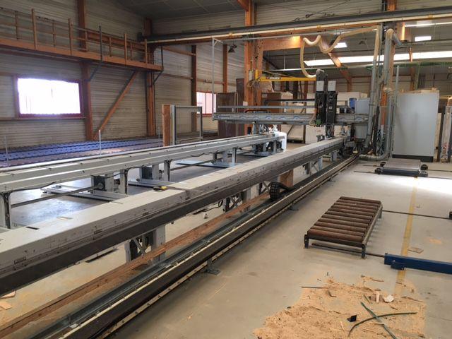 Centre d\'usinage numérique et de montage ossature bois WEIMAN type WEK 120/12 optimat