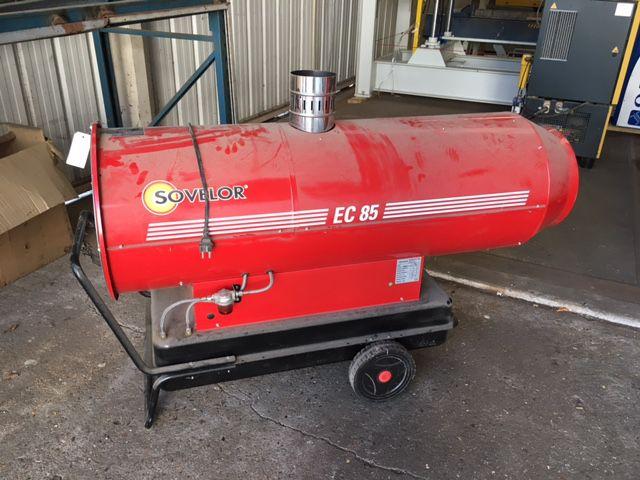 Chauffage soufflant à fuelsovelor - type ec 85