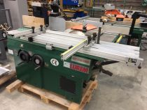 Combiné LUREM toupie scie inclinable type TS40 STI