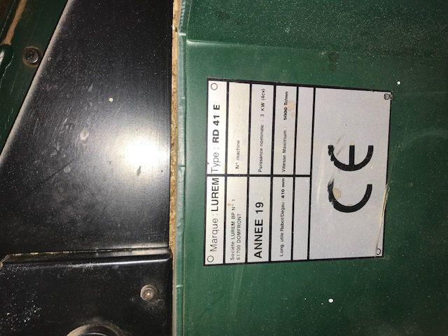 Combinée Rabo Dégau Lurem type RD41 E