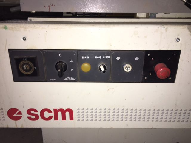 Combinée raboteuse dégauchisseuse SCM - type FS 520 CLASS