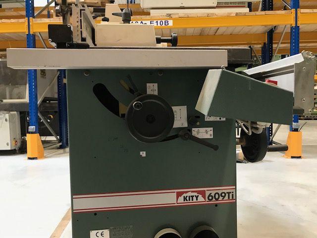 Comviné toupie scie KITY type 609 TI