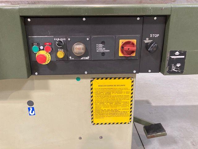 Dégauchisseuse SCM type F520