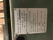 Dégauchisseuse STETON type PF 500