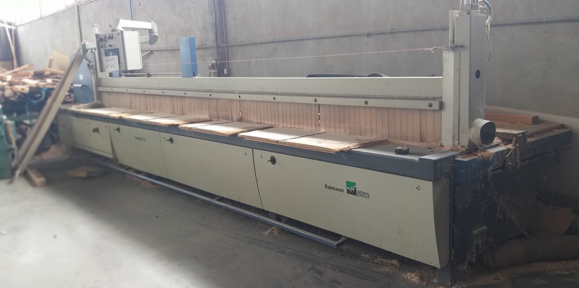 Déligneuse automatique RAIMAN Jrion Line type Flexirip 5200