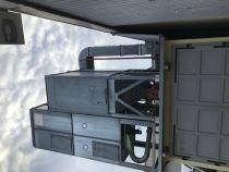 Filtre d\'aspiration Travaillant en pression avec silo de stockage de 6m3