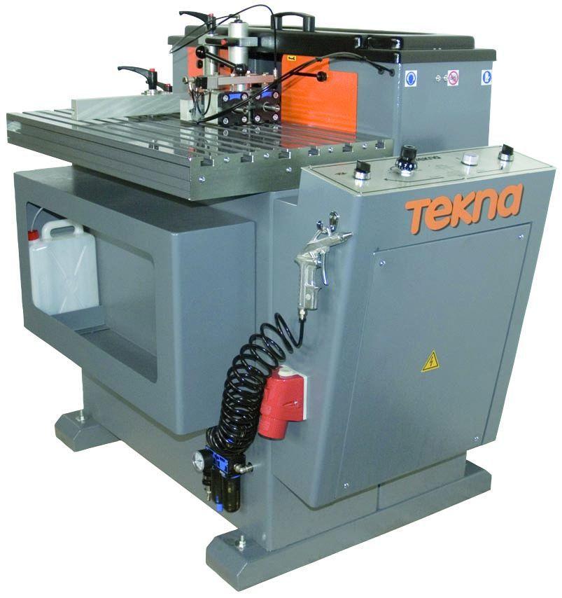Fraiseuse en bout Tekna TK 661 pour aluminium