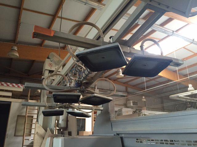 Manipulateur a ventouses MARHOS/SCM type LIFTER 200/45 - pour panneaux