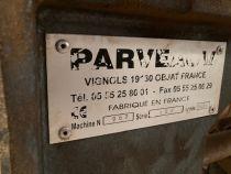 Mortaiseuse à bédane PARVEAU type ALTERNAX 151