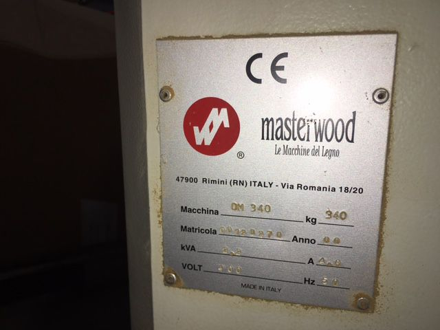 Mortaiseuse à chaîne MASTERWOOD type OM 340