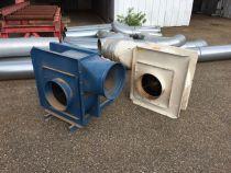 Moto ventilateur d'aspiration Samsoud bleu