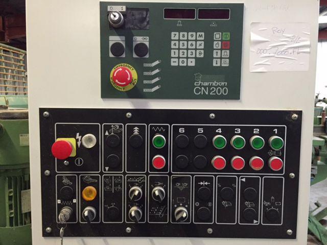 Moulurière CHAMBON type KXR - 5 porte-outils