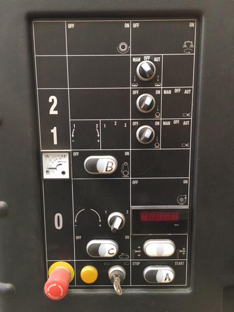 Ponceuse calibreuse automatique SCM - type Sandya 3/S RCS 95