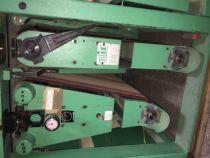 Ponceuse calibreuse KUNDIG dessus / dessous type BOTOP 1100/WS train de ponçage