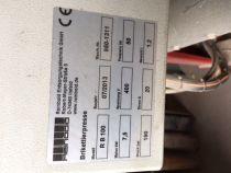 Presse à briquette Reinbolt Type RB100