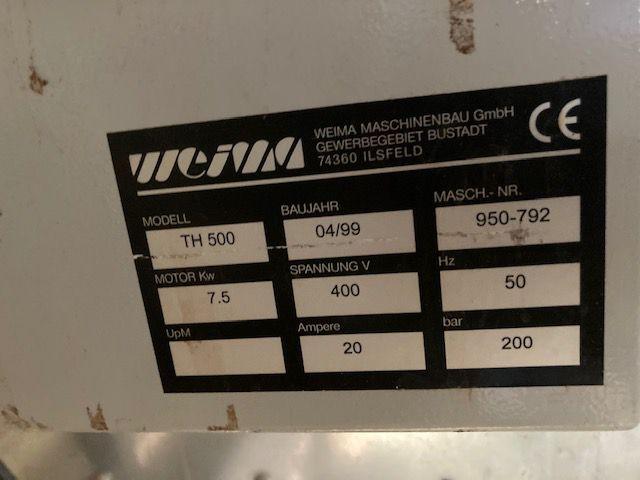 Presse à briquettes WEIMA type TH 500