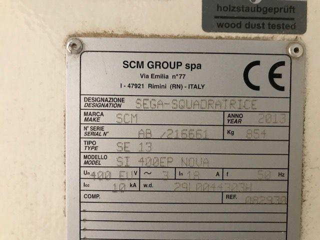 Scie à format SCM type SI 400 NOVA EP READY 3