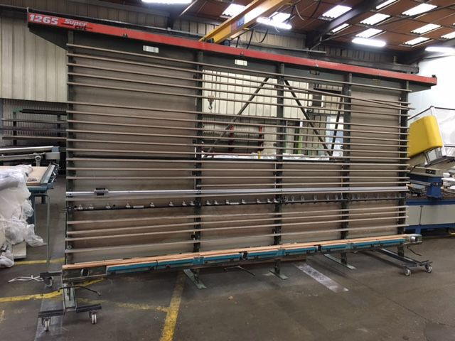 Scie à panneaux verticale Holz-her - type 1265 Super Cut
