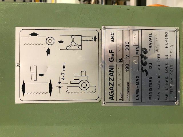 Scie à ruban AGAZZANI type AG 860