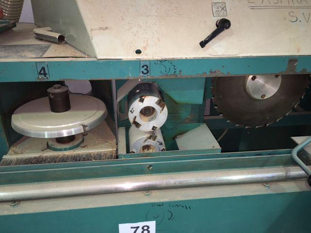 Tenonneuse a dérouleurs Mécanobois -type Compact 90 C4