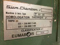 Toupie CHAMBON type T325
