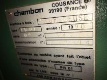 Toupie PROFILEUSE CHAMBON type PR01