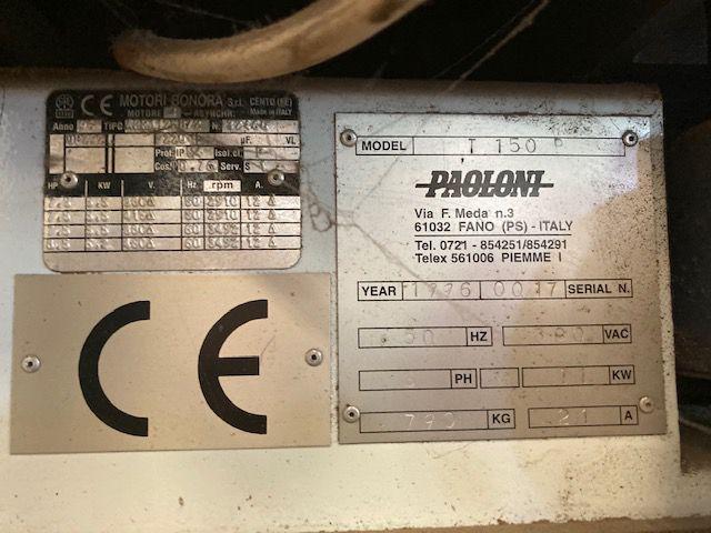 Toupie Profileuse PAOLINI type T150P