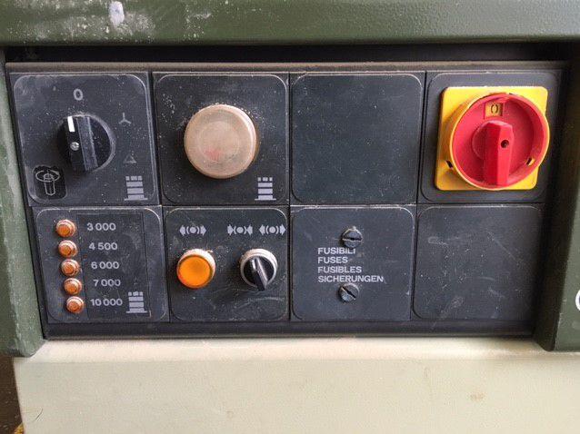 Toupie SCM - type T130 N