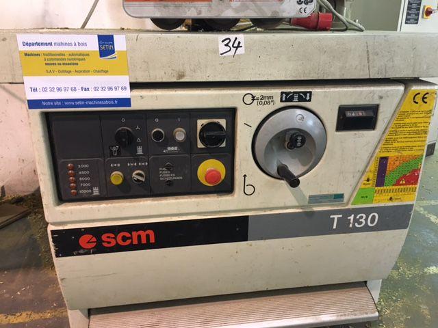Toupie SCM - type T130
