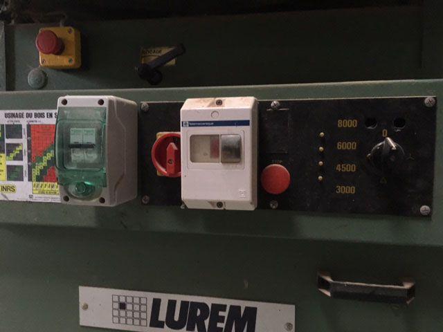Toupie tenonneuse LUREM/GUILLIET type T45T