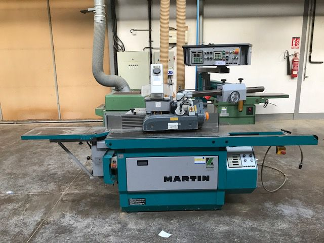 Toupie tenonneuse MARTIN type T26 INCLINABLE DUO CONTROLE